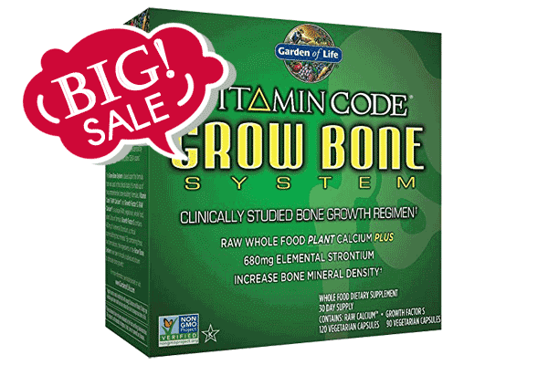 Grow Bone System Coupon